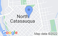 Map of Catasauqua PA