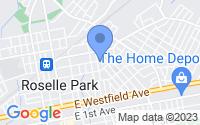 Map of Roselle Park NJ