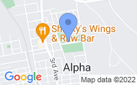 Map of Alpha NJ