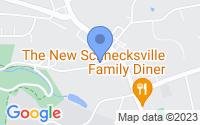 Map of Schnecksville PA