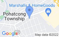 Map of Phillipsburg NJ