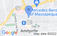 Map of Amityville NY
