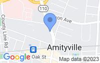 Map of Amityville NY