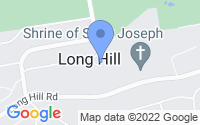 Map of Long Hill NJ