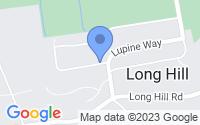 Map of Long Hill NJ