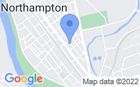 Map of Northampton PA