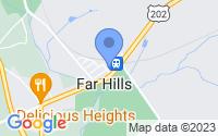 Map of Far Hills NJ