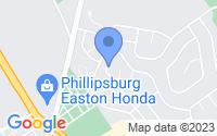 Map of Stewartsville NJ