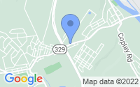 Map of Whitehall PA