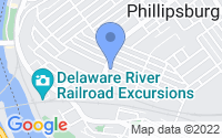 Map of Phillipsburg NJ