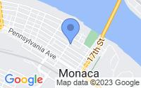 Map of Monaca PA