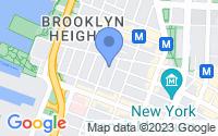Map of Brooklyn NY