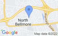 Map of North Bellmore NY