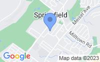 Map of Springfield Township NJ
