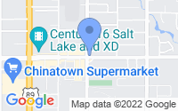 Map of South Salt Lake UT