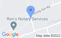 Map of Slatington PA