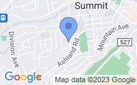 Map of Summit NJ