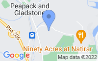 Map of Peapack NJ