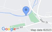 Map of Hampton NJ