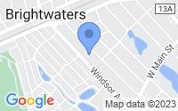 Map of Bay Shore NY