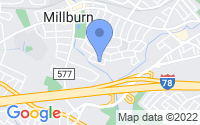 Map of Millburn NJ