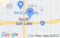 Map of South Salt Lake UT