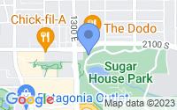 Map of Salt Lake City UT