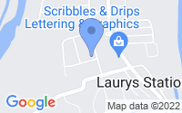 Map of Laurys Station PA