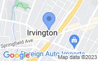 Map of Irvington NJ