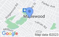 Map of Maplewood NJ