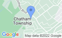 Map of Chatham NJ