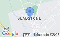 Map of Gladstone NJ