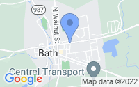Map of Bath PA
