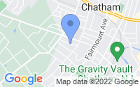 Map of Chatham NJ