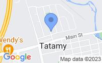 Map of Tatamy PA