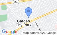 Map of New Hyde Park NY