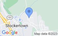 Map of Stockertown PA