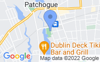 Map of Patchogue NY