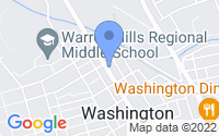 Map of Washington NJ