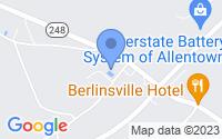 Map of Walnutport PA