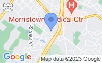 Map of Morristown NJ