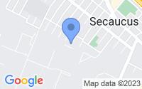 Map of Secaucus NJ