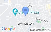 Map of Livingston NJ