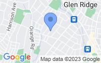 Map of Glen Ridge NJ