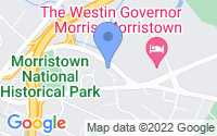 Map of Morristown NJ