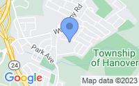 Map of Hanover NJ