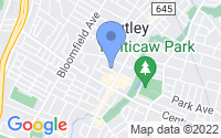 Map of Nutley NJ