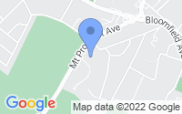 Map of Verona NJ