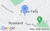 Map of Essex Fells NJ