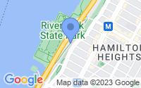 Map of New York NY